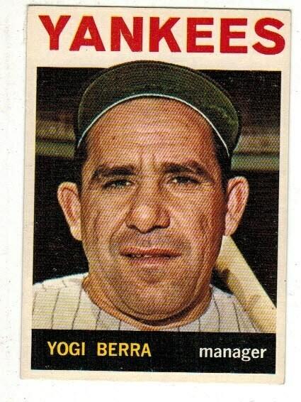 1964 Topps #21 Yogi Berra