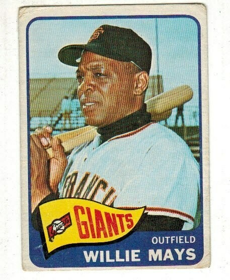 1965 Topps #250 Willie Mays  list $200