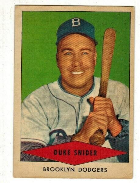 1954 Red Heart Duke Snider list $250