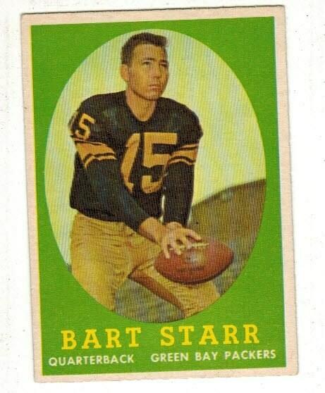 1958 Topps #66 Bart Starr