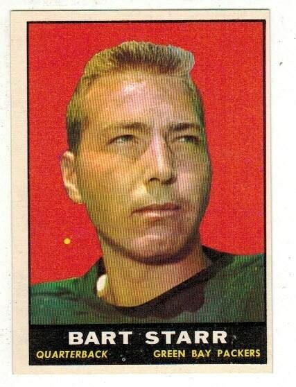 1961 Topps #39 Bart Starr