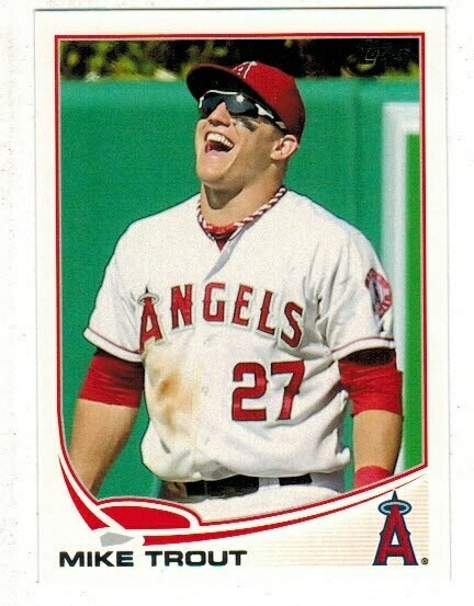 2013 Topps #27 Mike Trout Sun Glasses