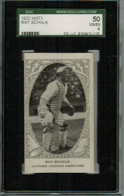 1922 W573 Ray Schalk SGC 4
