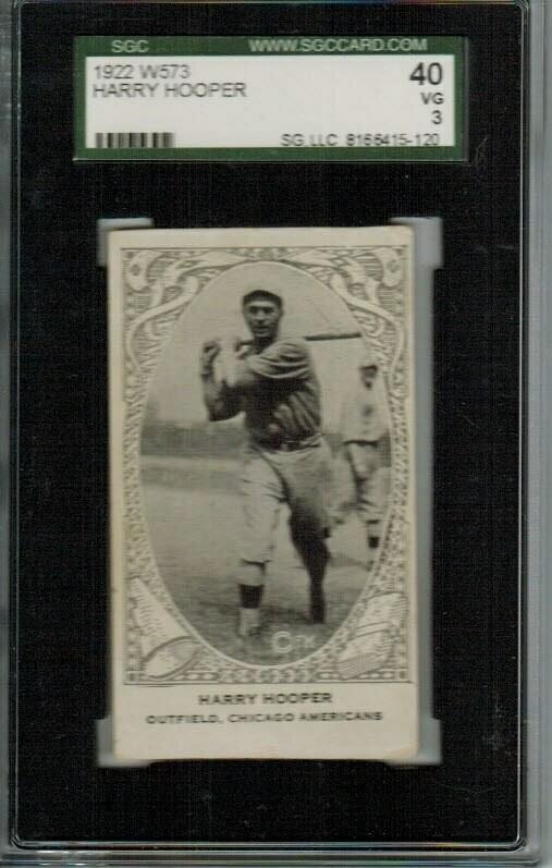 1922 W573 Harry Hooper SGC 3