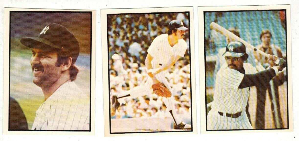1978 SSCP NY Yankees Team set 27 cards