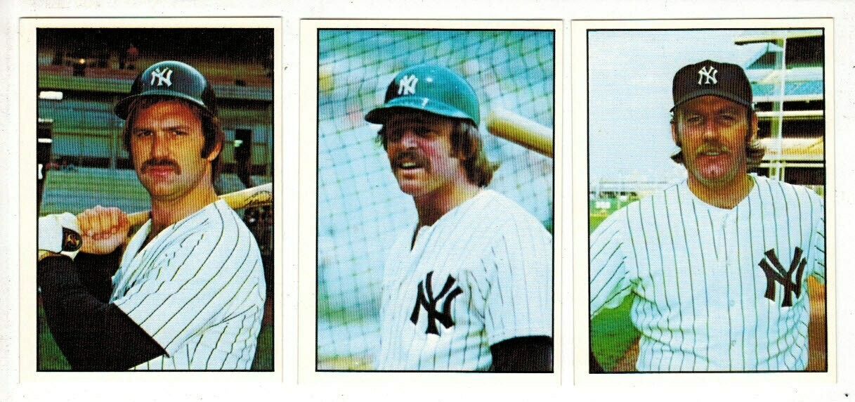 1975 SSCP NY Yankees Team set 23 cards