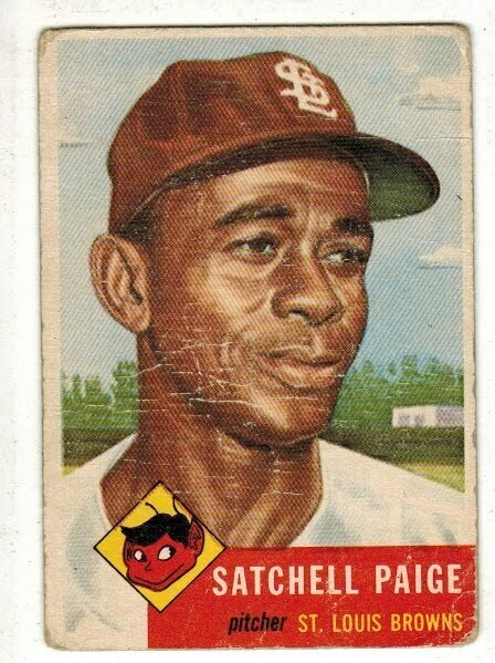 1953 Topps #220 Satchell Paige list $1200