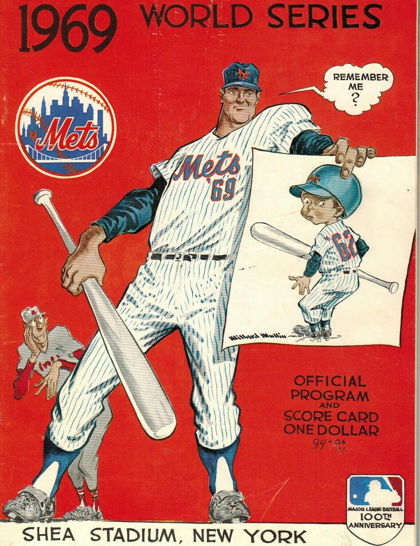 1969 Mets Official World Series Program