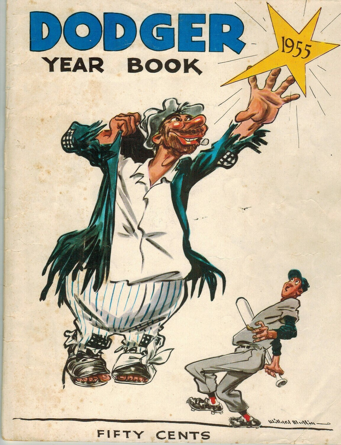 1955 Brooklyn Dodgers Official Yearbook World Champions