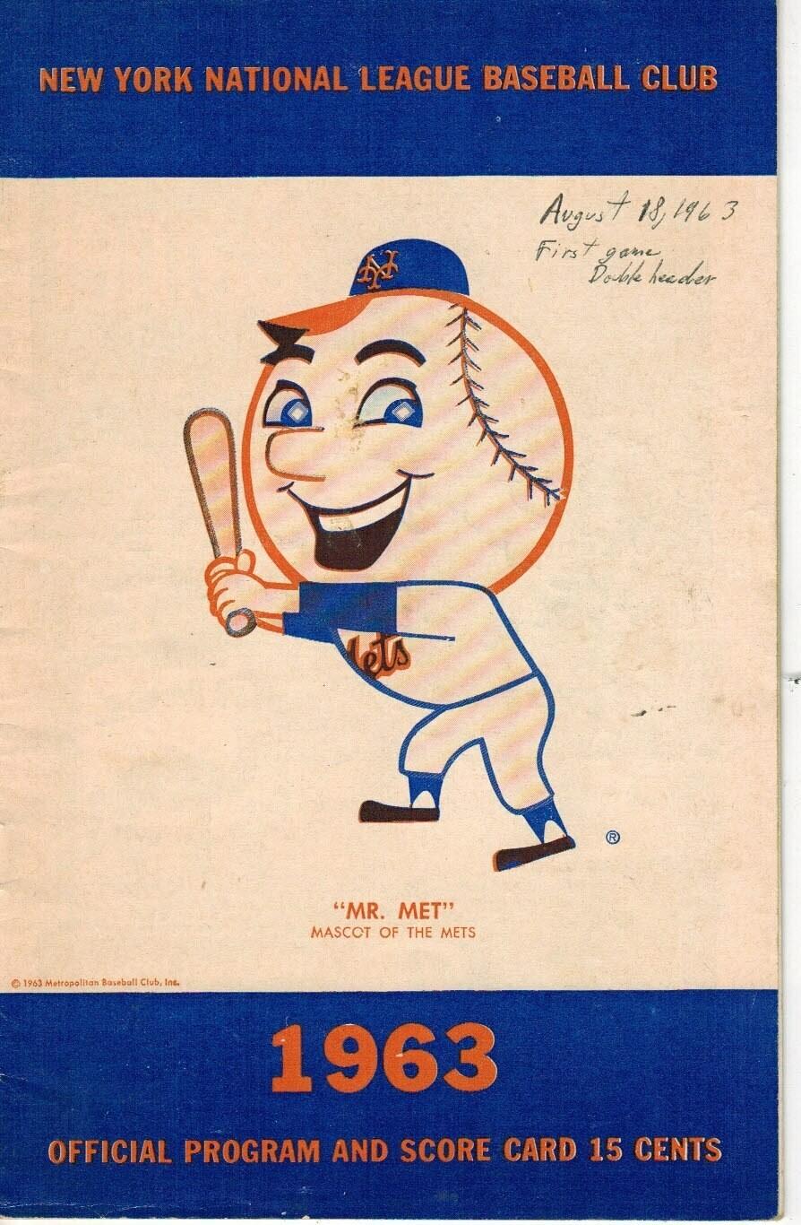 1963 Mets Official Program
