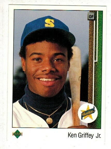 1989 Upper Deck #1 Ken Griffey Jr. rookie