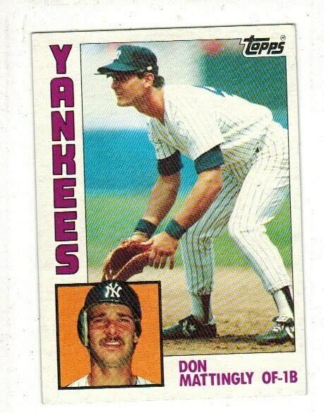 1984 Topps Baseball Set Nr Mint