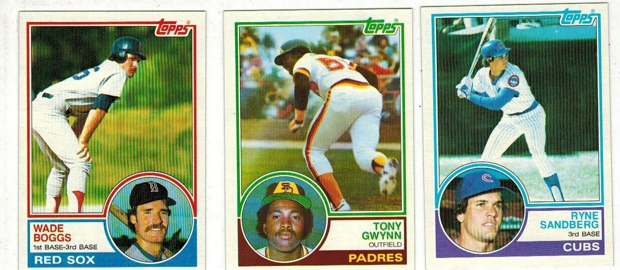 1983 Topps Baseball Set Nr Mint List $80
