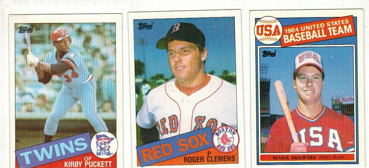 1985 Topps Baseball Set Nr Mint List $80