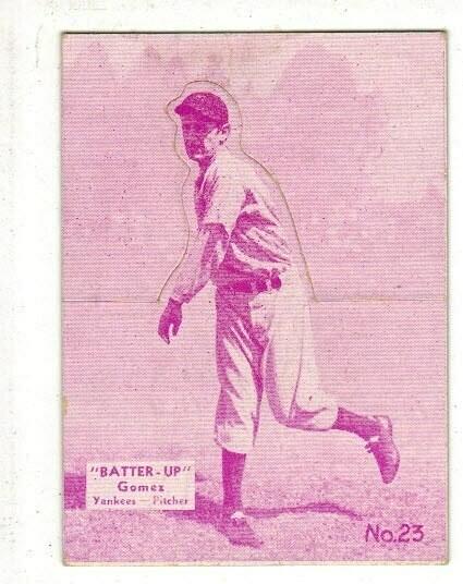 1934 Batter Up #23 Lefty Gomez