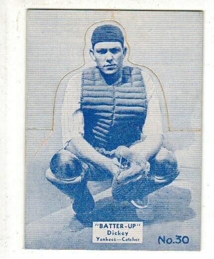 1934 Batter Up #30 Bill Dickey