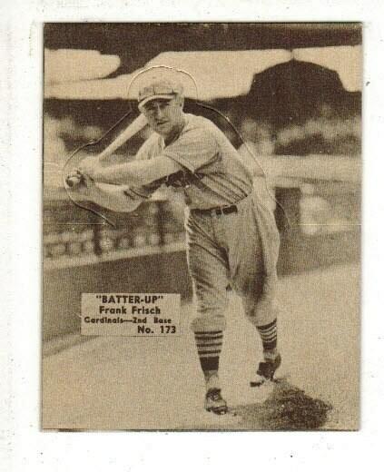 1934 Batter Up #173 Frankie Frisch