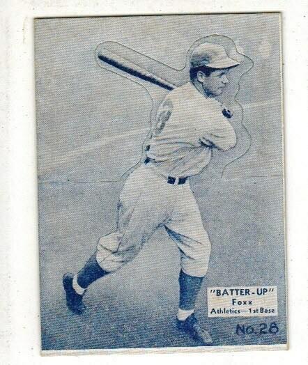 1934 Batter Up #28 Jimmie Foxx