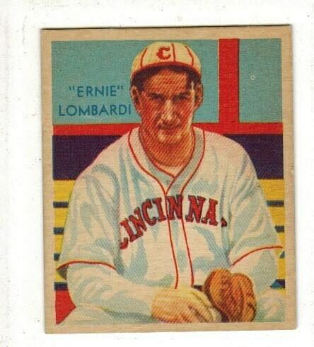 1934 Diamond Star #36 Ernie Lombardi HOFer Ex/Mint