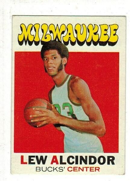 1971/72 Topps #100 Lew Alcindor