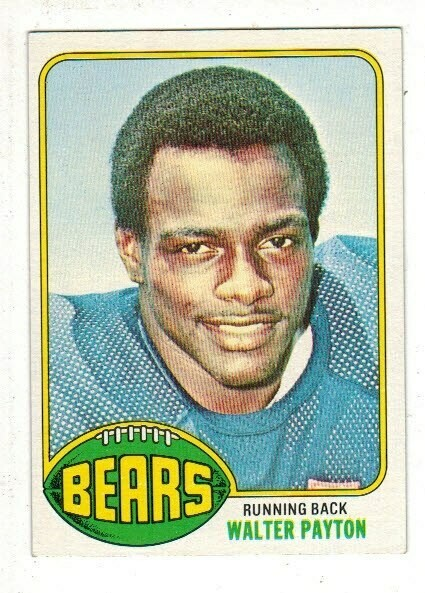 1976 Topps #148 Walter Payton rookie card Ex/Mint+