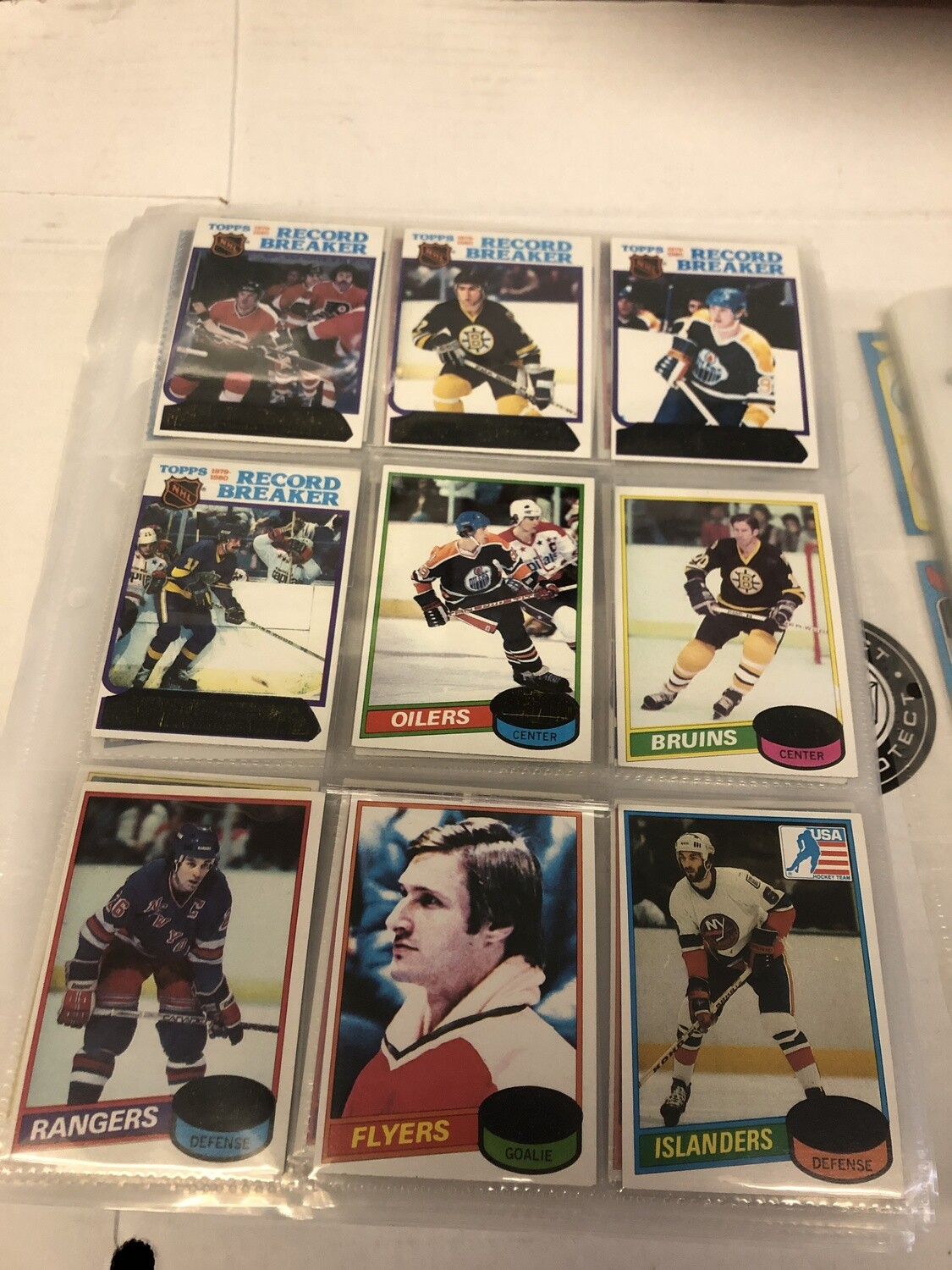 1980/81 Topps Hockey Complete Set Near Mint Unscratched