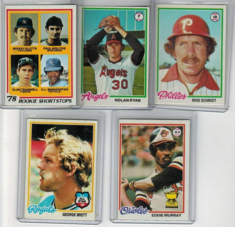 1978 Topps Baseball Set Ex/Mint