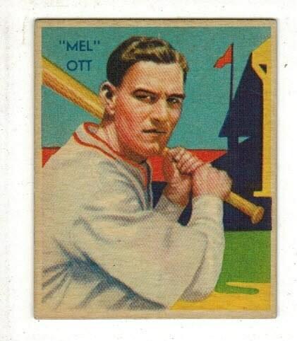 1935 Diamond Star #50 Mel Ott