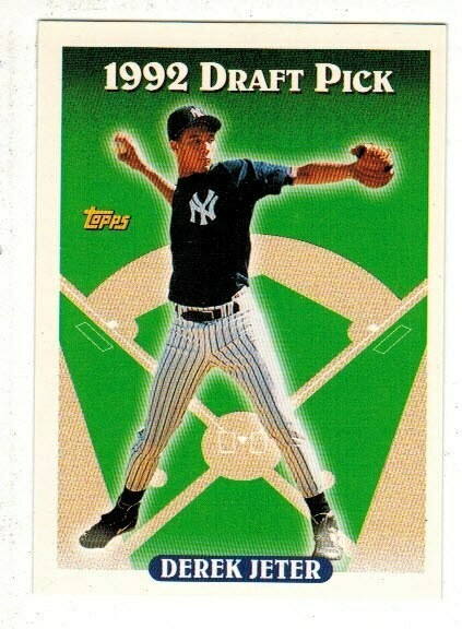 1993 Topps Derek Jeter rookie