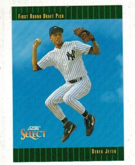 1993 Select Derek Jeter rookie