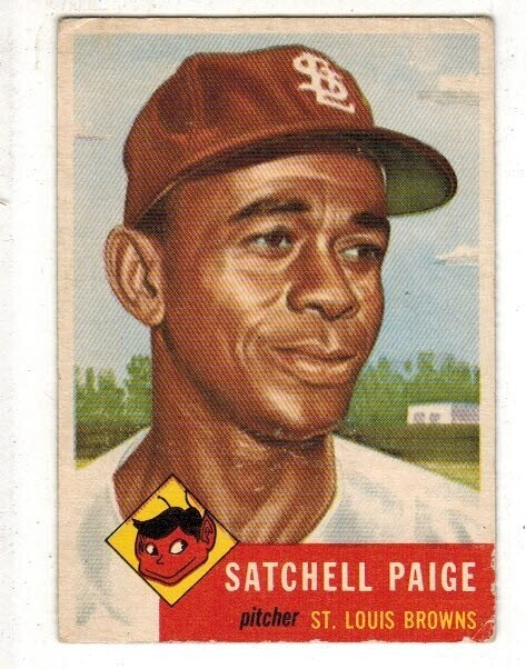 1953 Topps #221 Satchell Paige VG/EX