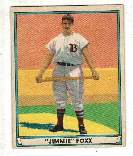 1941 Playball #13 Jimmie Fox Ex/Mint