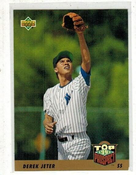 1993 Upper Deck Derek Jeter rookie