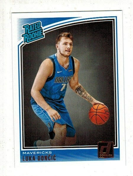 2018 Donruss Luka Doncic Rated Rookie
