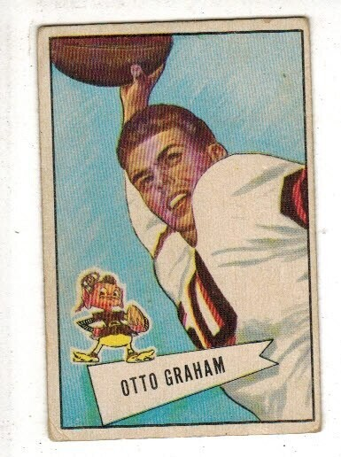 1952 Bowman Small #2 Otto Graham lst $200