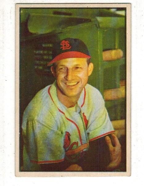 1953 Bowman #32 Stan Musial list $500