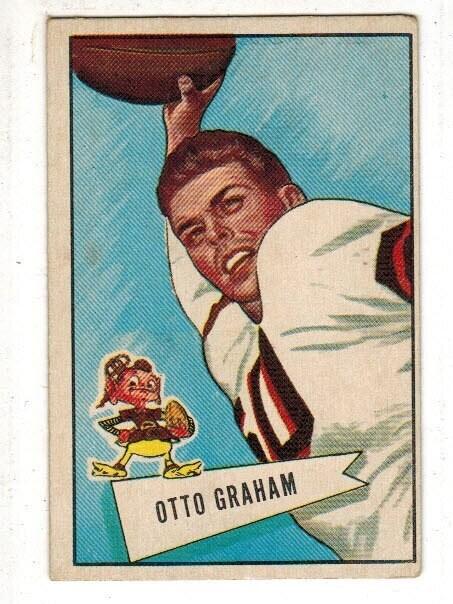 1952 Bowman Large #2 Otto Graham list $300