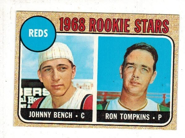 1968 Topps #247 Johnny Bench rookie Nr Mint