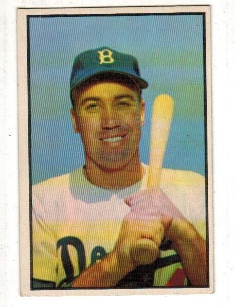 1953 Bowman #117 Duke Snider list $500