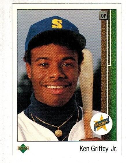 1989 Upper Deck #1 Ken Griffey Jr. rookie well centered