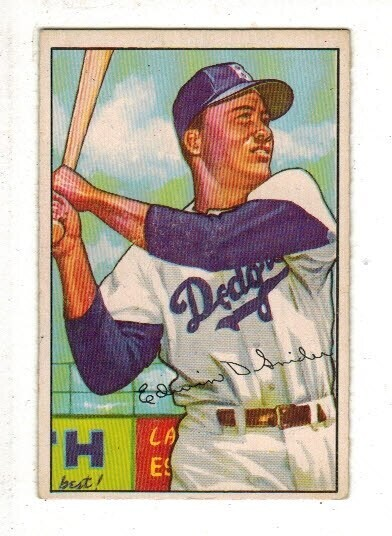 1952 Bowman #116 Duke Snider list $200