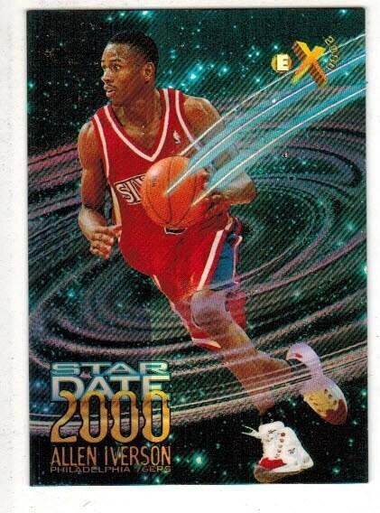 1997 eX Star Date 2000 Allen Iverson