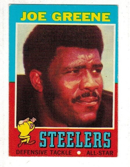 1971 Topps Joe Greene rookie