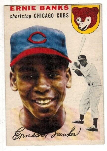 1954 Topps #94 Ernie Banks rookie list $6,000