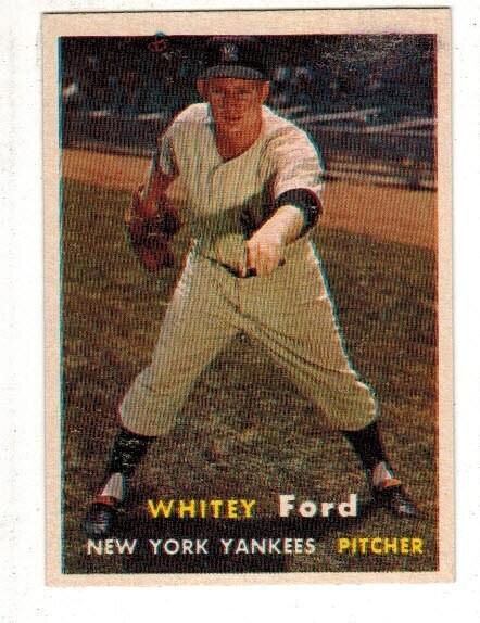 1957 Topps #25 Whitey Ford list $125