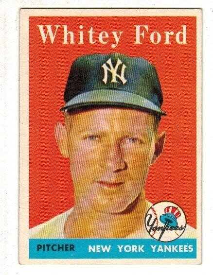 1958 Topps #320 Whitey Ford
