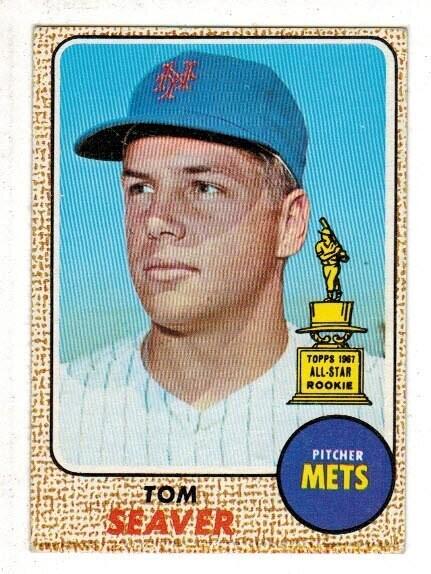 1968 Topps #45 Tom Seaver list $150