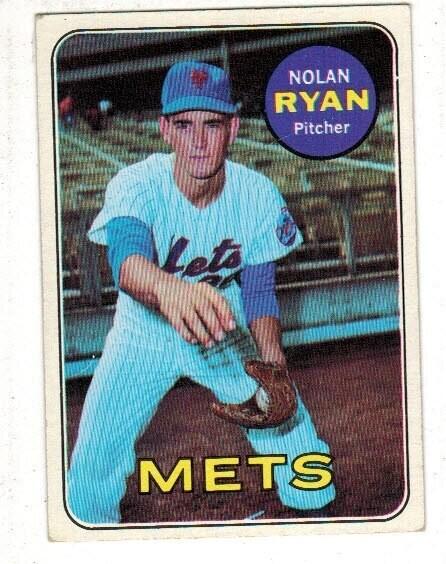 1969 Topps #533 Nolan Ryan list $500
