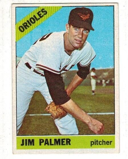 1966 Topps #126 Jjim Palmer rookie list $120