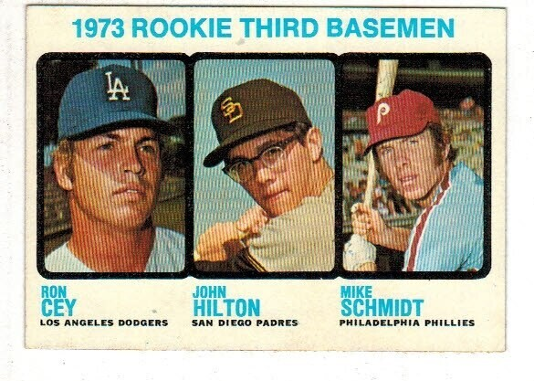 1973 Topps #616 Mike Schmidt rookie